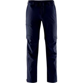 Maier Sports Tajo Spodnie z odpinanymi nogawkami Mężczyźni, niebieski